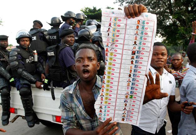MONITORING DU VOTE CONGOLAIS DU 28/11/2011: LES CAS DE FRAUDE ET VIOLATION DE LA LOI ELECTORALE MONITORING DU VOTE CONGOLAIS DU 28/11/2011: LES CAS DE FRAUDE ET VIOLATION DE LA LOI ELECTORALE
